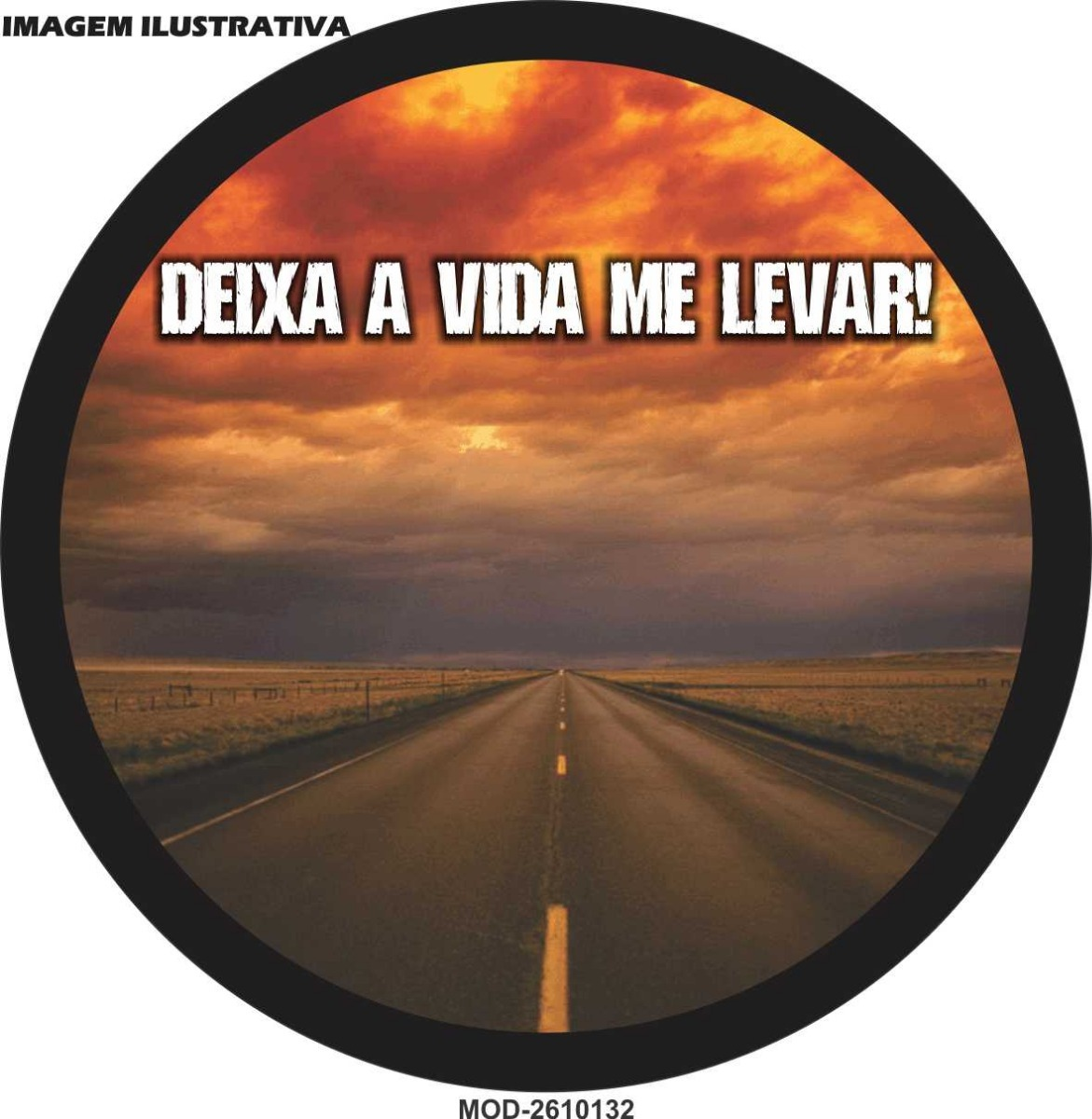 Capa Estepe Ecosport Crossfox Frase Deixa Vida M 2610132 R 80