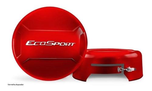capa estepe ecosport vermelho arpoador - top mix
