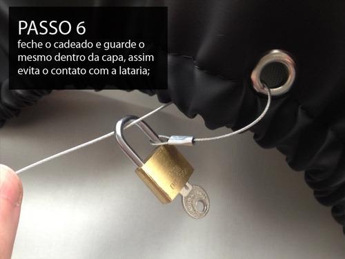 capa estepe pajero tr4 pneu 225/70 16 justiceiro
