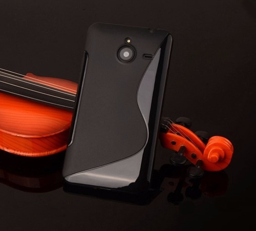 capa flexível microsoft lumia 640 xl + película de vidro