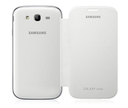 capa flip cover galaxy grand gran duos case i9082 + película