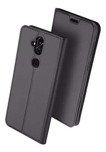 capa flip zenfone 5 selfie / pro | case carteira flip dux