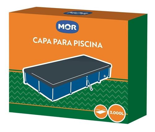 capa + forro p/ piscina 3000 litros mor mor