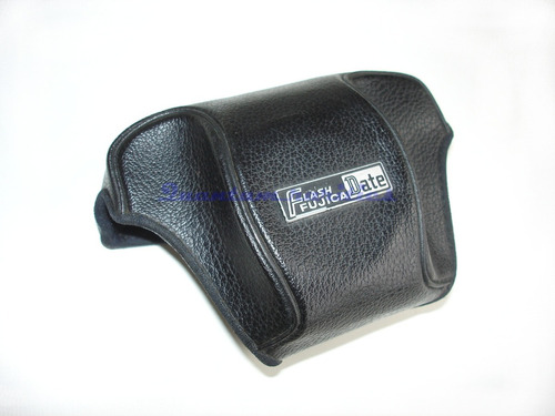 capa frontal maquina fotografica fujica flash date - usada