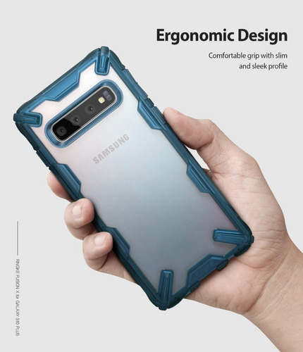 capa galaxy s10 plus |  ringke fusion x  | case anti choque