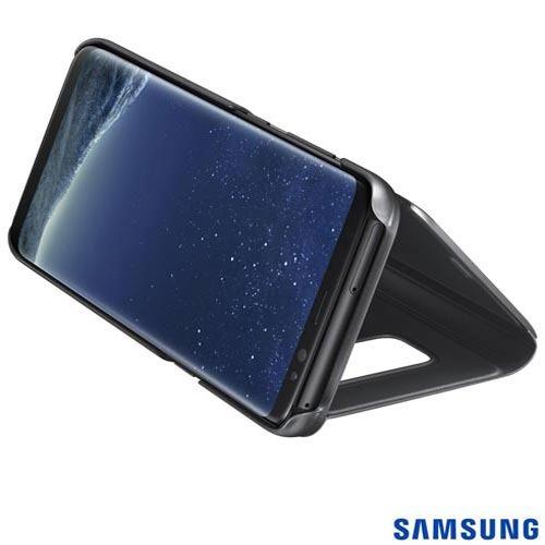 capa galaxy s8 clear view samsung ef-zg950cb egbr