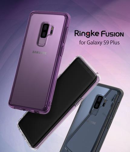 capa galaxy s9 plus | ringke fusion | original híbrida case