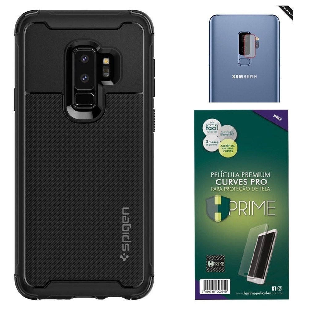 sports shoes 68696 d89c0 Capa Galaxy S9 Plus | Spigen Ultra Hybrid + Rugged Urban