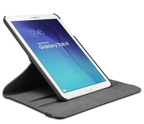 capa giratoria tablet galaxy tab e 9.6 t560 t561 + peliucla