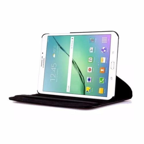 capa giratória tablet samsung tab s2 8 t710 + pelicula vidro
