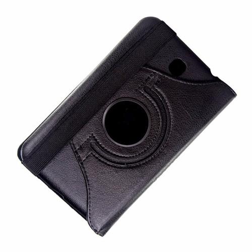 capa giratória tablet samsung tab3 7 t210 + brinde grátis