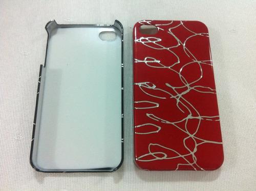 capa hard case para apple iphone 4g 4s - frete grátis
