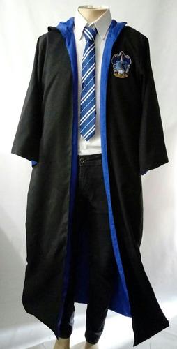 capa harry potter corvinal + gravata p m g gg xg