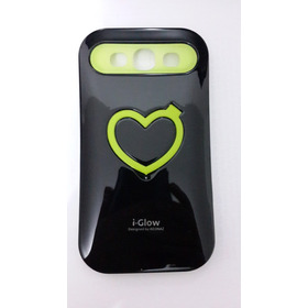 Capa I-glow Preta Ou Branca - Samsung S3 I9300