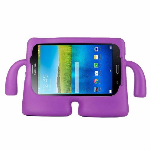 capa iguy tablet samsung galaxy tab a6 a7 t285 t280 + vidro