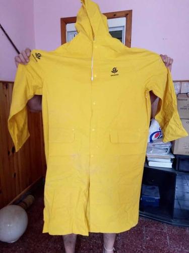 capa impermeable amarilla gaucho para adulto