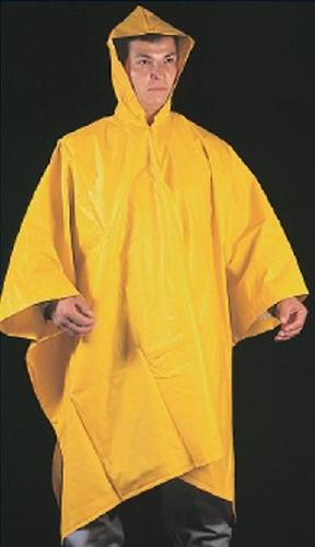 capa impermeable amarilla para proteccion lluvias medellin