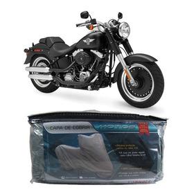 Capa Impermeável Harley Davidson Fat Boy Low/special G(220)
