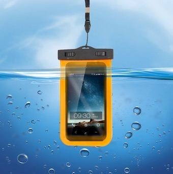 capa impermeável para celular iphone samsung motorola sony