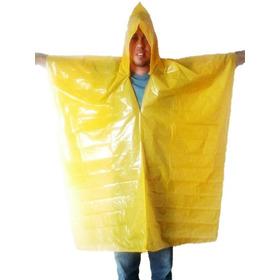 Capa Impermiable De Plastico Para Lluvia Poncho !oferta!