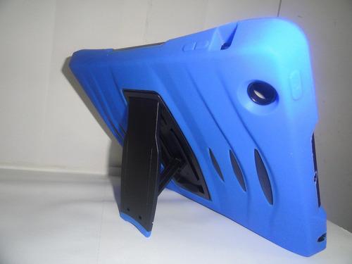 capa ipad air 1 anti impacto c/ suporte caneta p/ touch