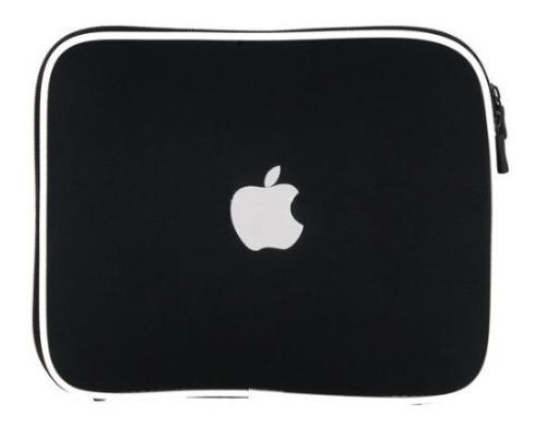 capa ipad case soft neoprene para ipad apple netbook laptop