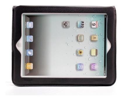 capa ipad- pasta protetora com apoio e suporte para cartões