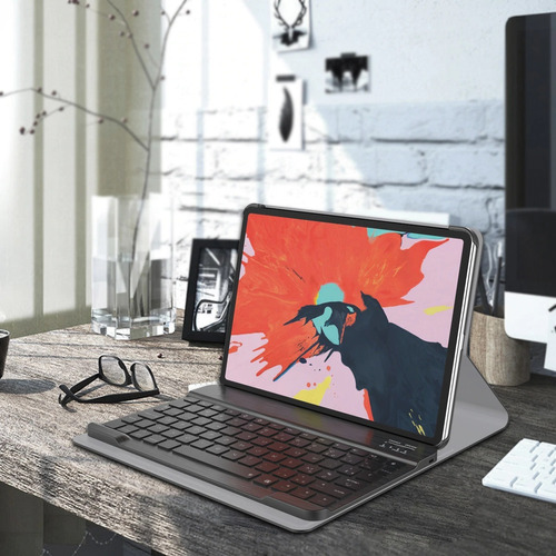 capa ipad teclado retroiluminado ipad pro 11 2018