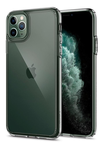capa iphone 11 pro spigen ultra hybrid original