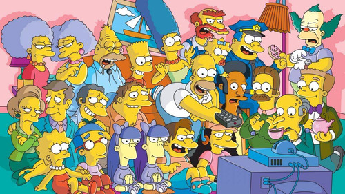 capa iphone 5s-simpsons