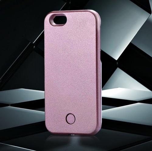 capa iphone 6 6s case capinha celular luz led selfie top r 47 90 em mercad. Black Bedroom Furniture Sets. Home Design Ideas