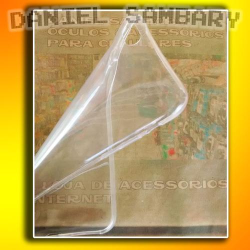 capa iphone 6 plus 5.5 casca ovo case transparente+pel vidro