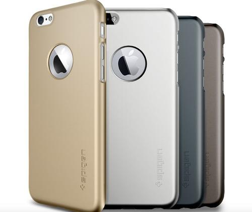 capa iphone 6 spigen ultrafino-dourado