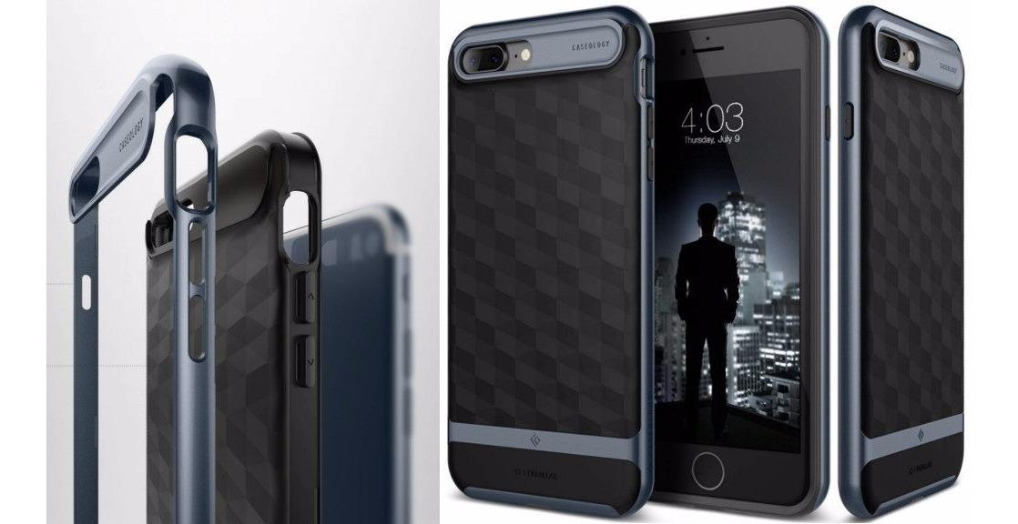 uk availability ed6fd d8b8f Capa iPhone 7 Plus Caseology Parallax Deep Blue 100%original
