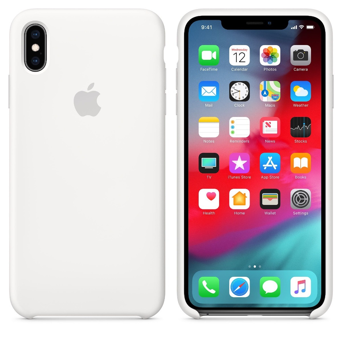 1c02dc466 capa iphone xs max 6.5 original silicone apple branco white. Carregando  zoom.