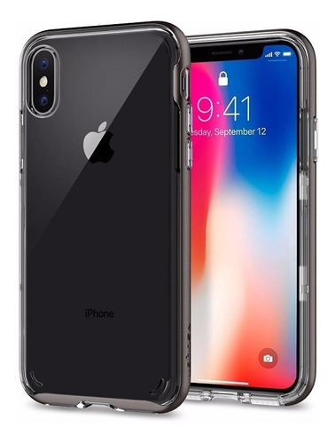 capa iphone xs / x 10 spigen neo hybrid crystal original