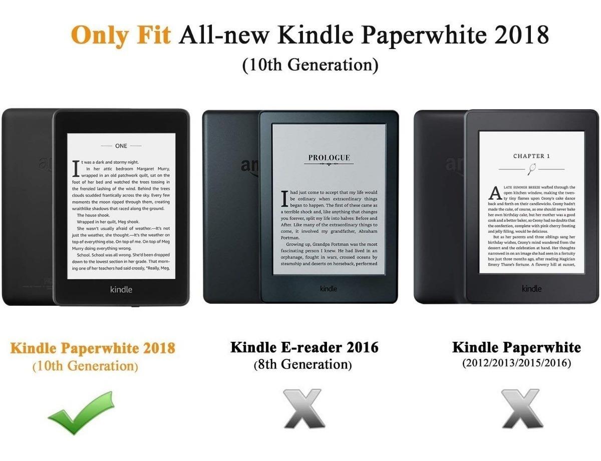 Capa Kindle Paperwhite 4 10 ª Geração Dont Touch Hibernação