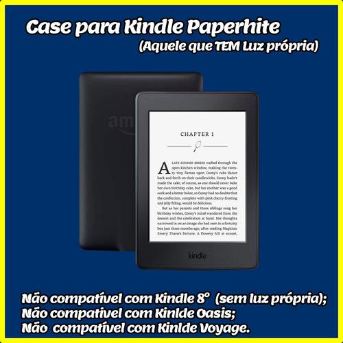 capa kindle paperwhite (compatível até 9a geração)