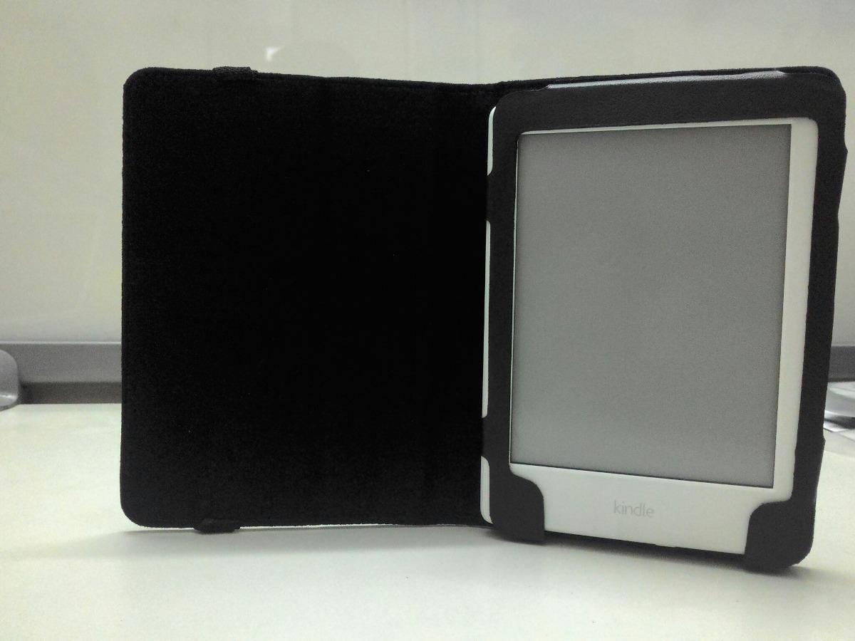 1e3ef00e4 Capa Kindle Protetora Única - 8ª Geração Amazon A568 Preta - R  35 ...