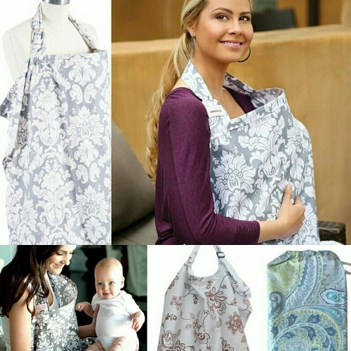 capa lactancia mandil cuello rigido manta maternidad cubre
