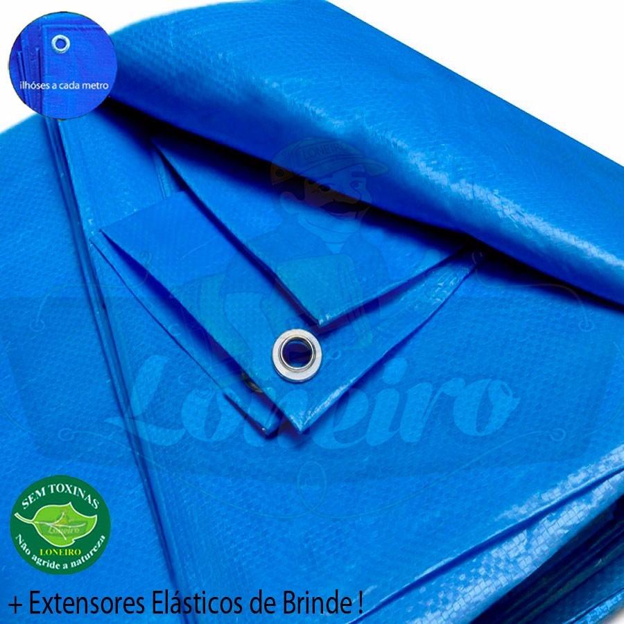 Capa lona 3x2 m azul piscina cobertura caminh o 300 micras for Parches para piscinas de lona