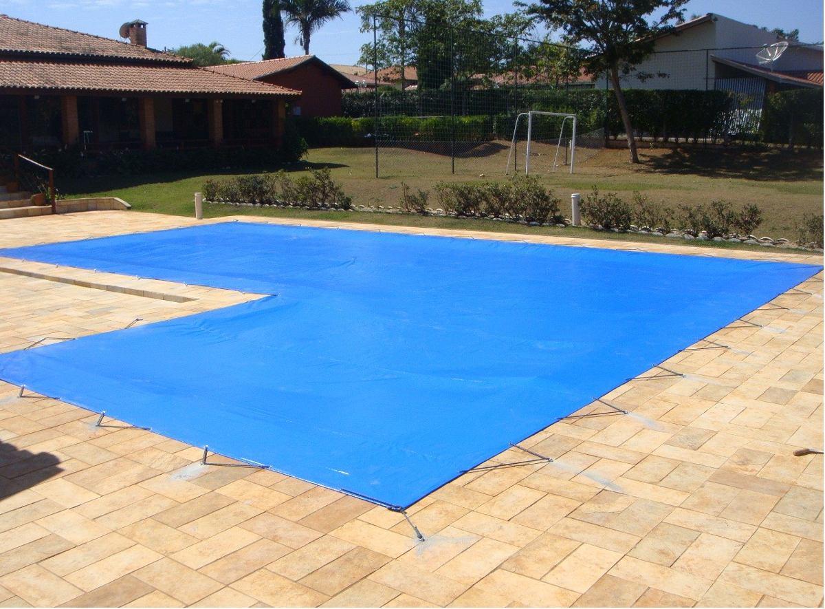Capa lona de prote o sob medida para piscina r 18 49 for Lona interior piscina desmontable