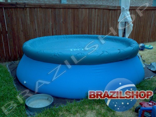 capa lona piscina 3,66 intex serve mor bel bestway e nautika