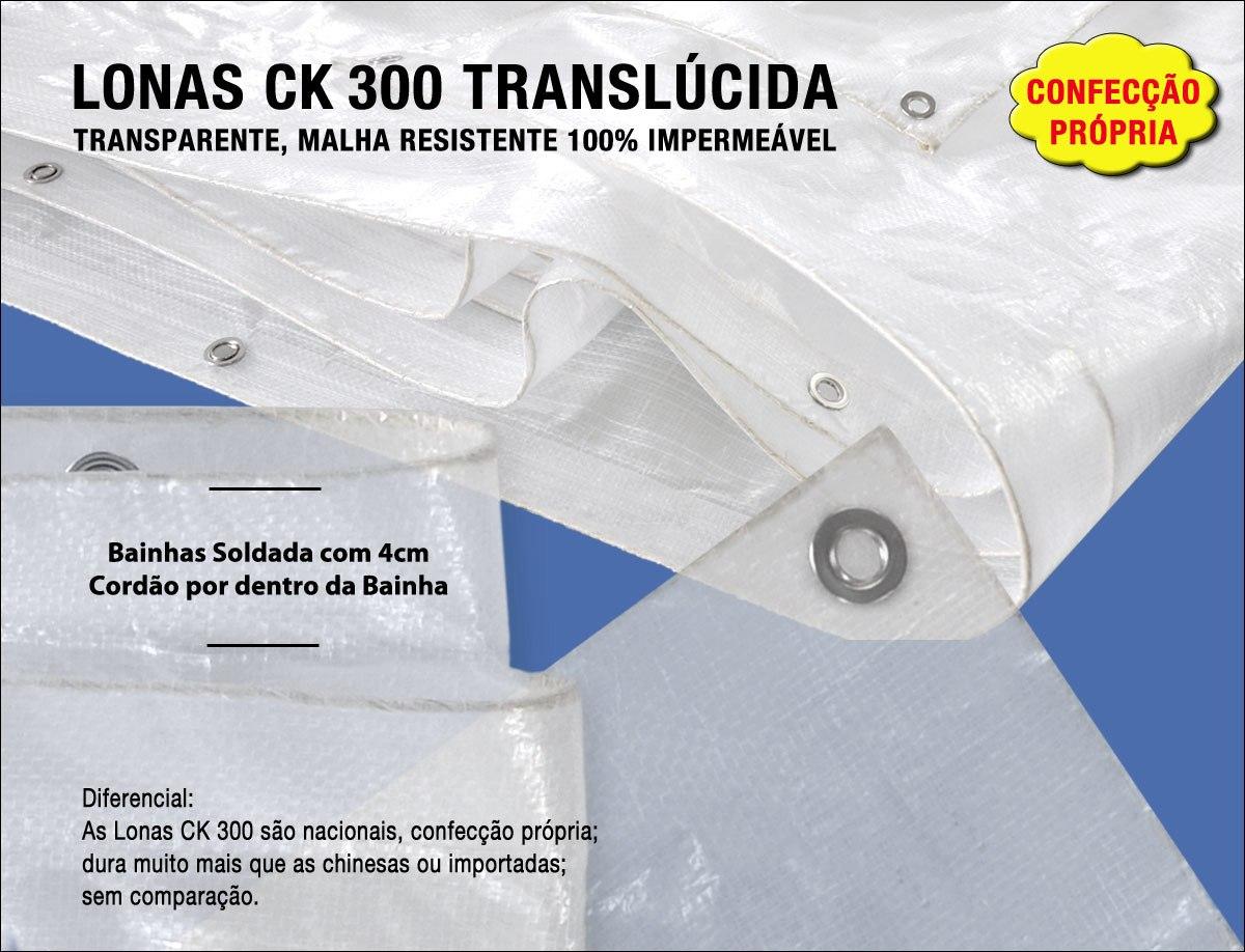 Capa Lona Transparente Cobertura Piscina Translúcida 6x3 Mts - R ...