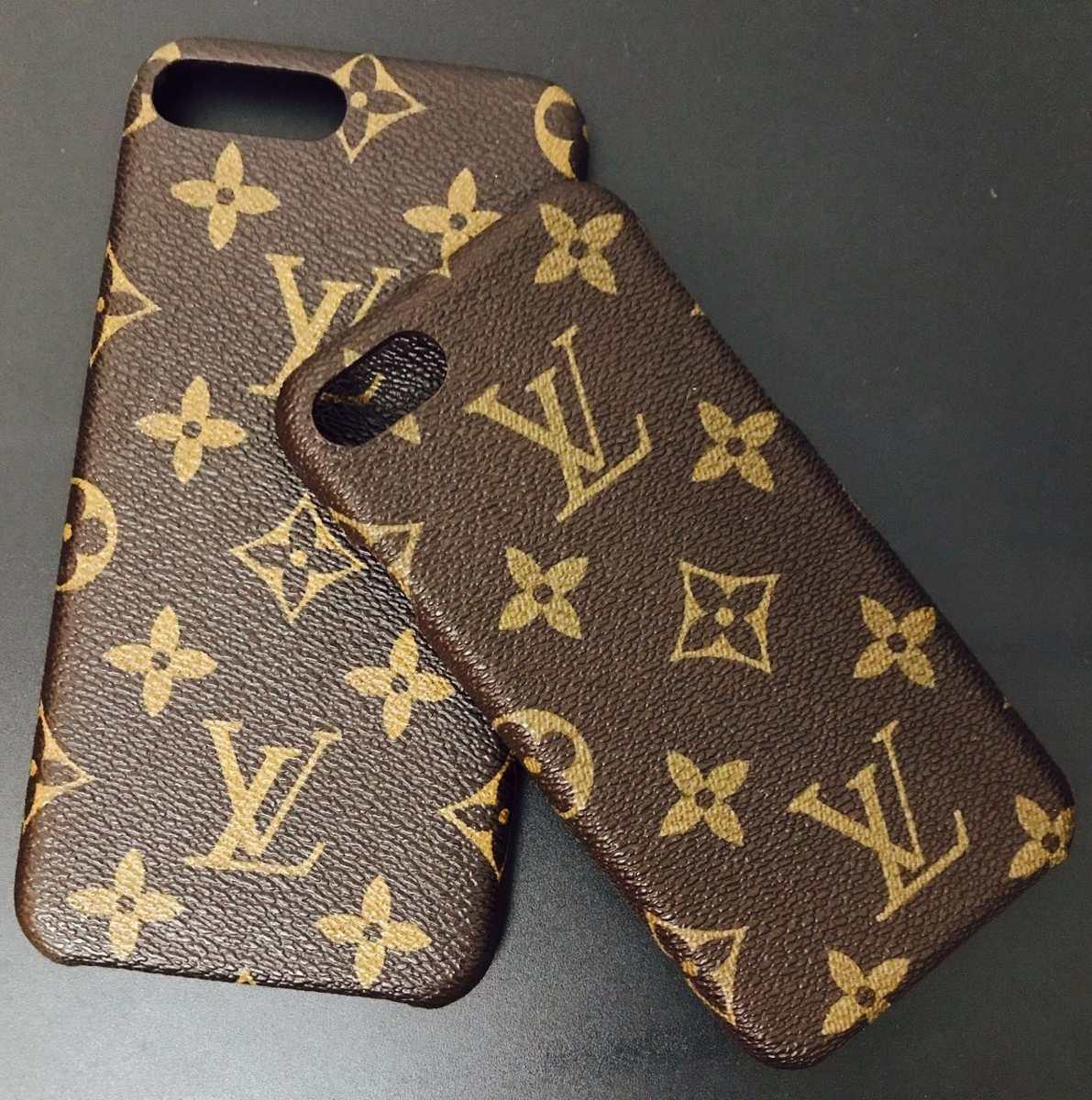 1b2cb50f039 Capa Louis Vuitton Case iPhone 7 iPhone 8 Canvas Monogram