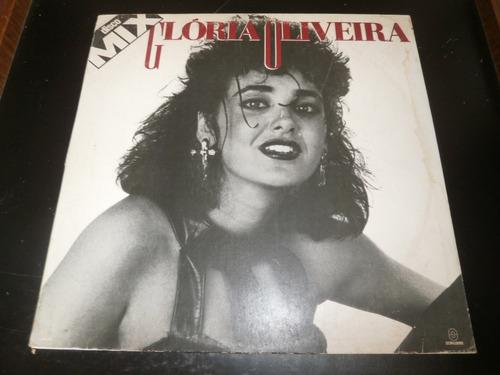 capa lp glória oliveira - disco mix, disco vinil - obs
