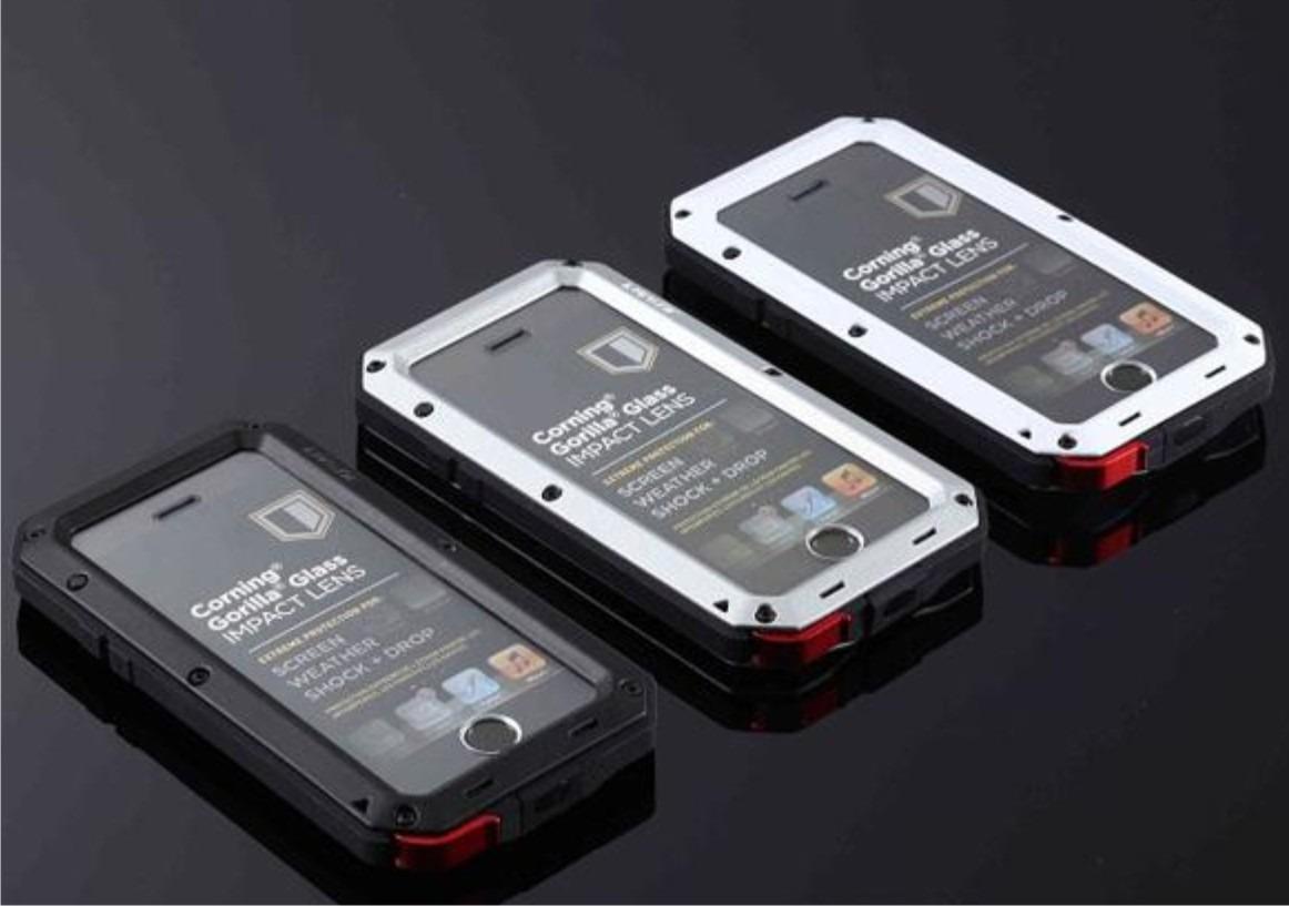 hot sale online cb77d c6b1a Capa Lunatik Taktik Gorilla Glass Para iPhone 5 5s Se Case
