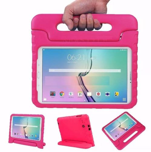 capa maleta tablet galaxy tab e 9.6 t560 t561+pelicula vdiro