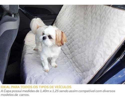 capa matelada protetora levar cães no banco do carro