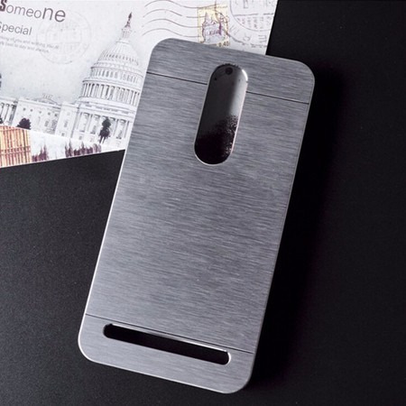 capa metal alumínio celular zenfone 2 ze551+pelicula vidro